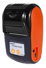 Mini Impressora Portátil Sem Fio Android Ios Bobinas Case