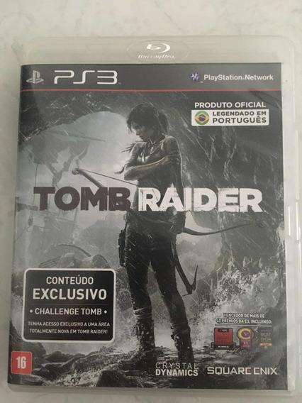 Tomb Raider Ps3 Mídia Física Português