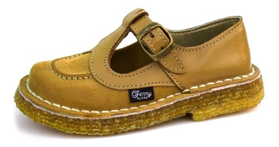 Guillerminas Zapatos Colegial - Cuero Vacuno - 34 Al 40 - Costura Fraymocho - Calzado Ciro