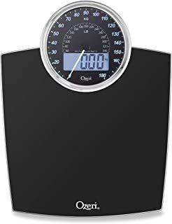 Báscula De Baño Ozeri Rev 400 Lbs (180 Kg) Con Dial De Pes