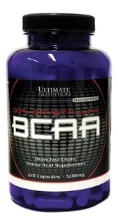 Bcaa Importado Usa 60 Caps Ultimate Nutrition