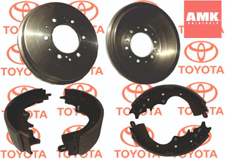 Tambores De Freno Trasero Toyota Hiace C/ Balatas