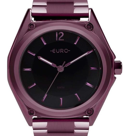 Relógio Euro Feminino Color Mix Roxo Eu2035ypm/4p + Nfe