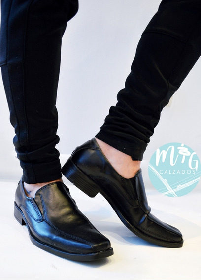 Zapatos De Vestir Hombre Casual Linea Italy Art 4250 Urbanos