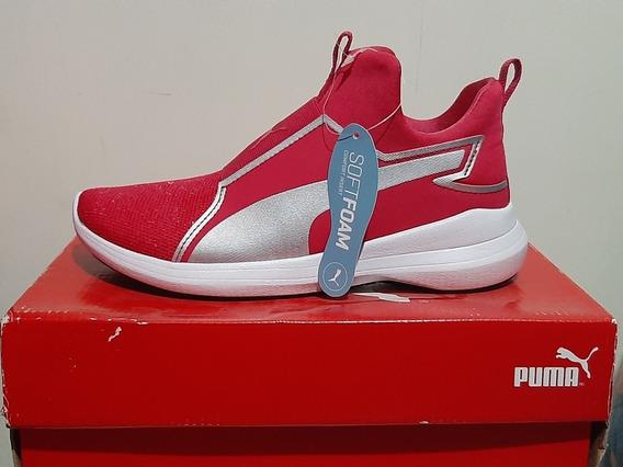 Zapatillas Puma Rebel Mid Jr Originales! Nuevas!