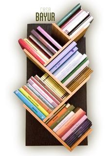 Biblioteca Flotantes Decoracionmoderna En Melamina B-01