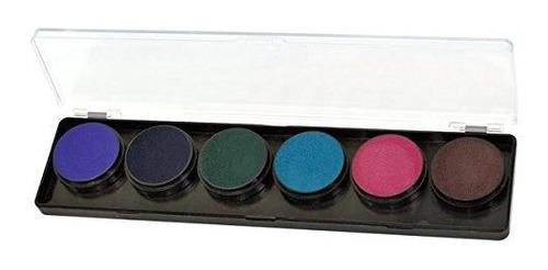 Kit De Pintura De Cara Y Cuerpo De Paleta De Colores Fabulos