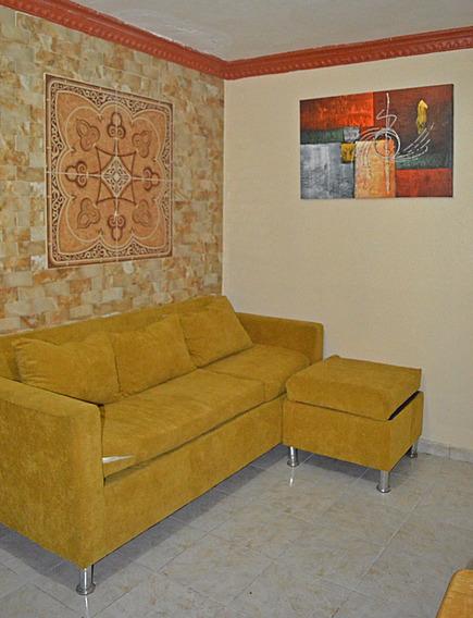 Alquiler En Zona Colonial, Apto Amueblado De 1 Habitacion