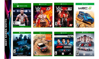 Xbox One Juegos Metal Gear Mass Efect Naruto Boruto Farcry