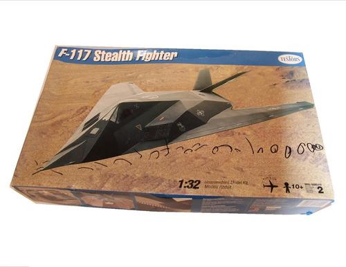 Imagen 1 de 5 de Avion A Escala F-117 Stealth Testor