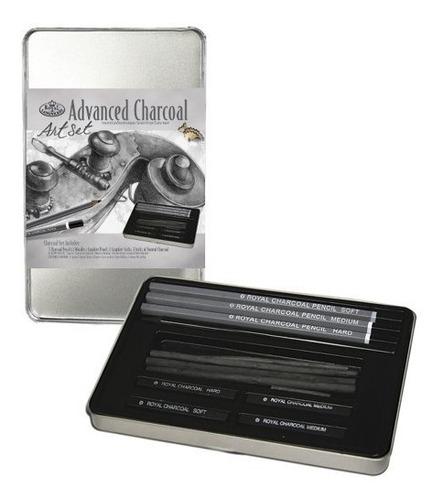 Royal - Langnickel Rset-art2503 Set De Dibujo De Carboncillo