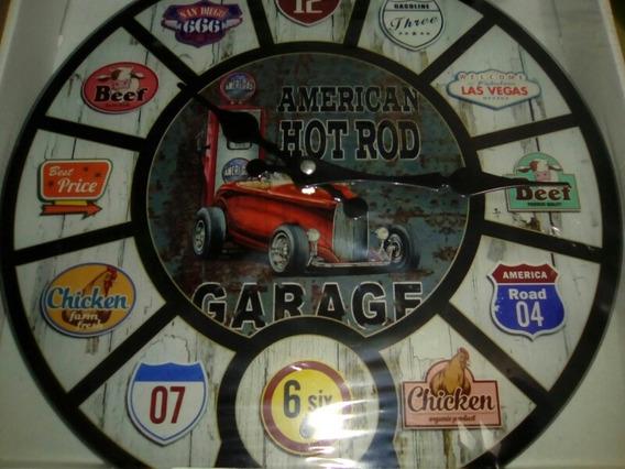 Reloj De Pared Para Ambientaciones Y Temas Vintage Preguntar