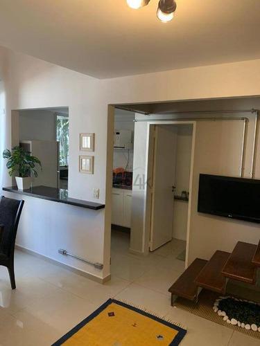 Imagem 1 de 26 de Venda Apartamento Duplex Brooklin. 1 Quarto, Mobiliado, 50m². Rua Barão Do Triunfo, N 314 - Brooklin - Ad0018