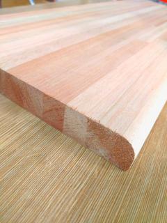 Escalón De Eucaliptus Alistonado 0.25 X 1m X 30mm