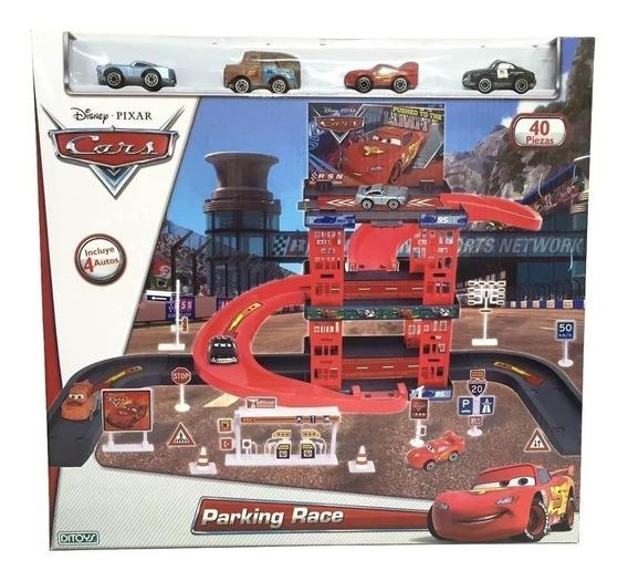 Pista De Carreras Parking Race Ditoys Cars Mcqueen Original