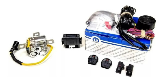Kit Alarme Com Trava Elétrica Original Fiat Mobi - 7090166