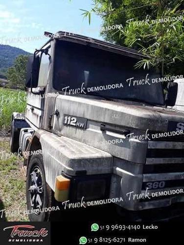 Sucata Para Venda De Peças Scania 112 Hw / 113 Bicudo