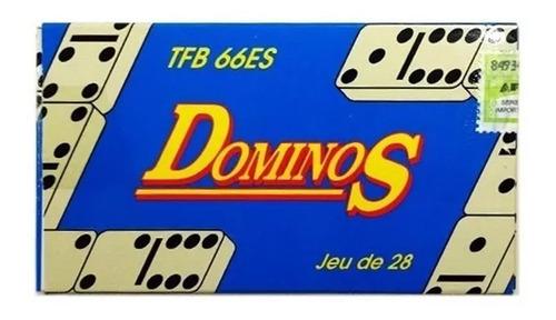 Juego De Mini Domino  Chico 28 Fichas Viaje 9767