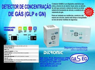 Detector De Vazamento De Gás - Glp Ou Gn
