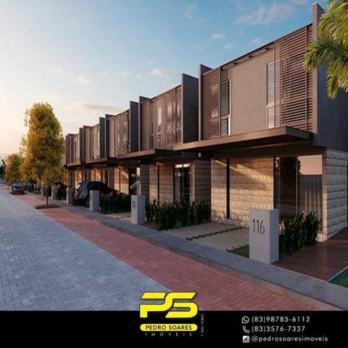 Casa Com 3 Dormitórios À Venda Por R$ 837.212 - Bela Vista - Cabedelo/pb - Ca0581