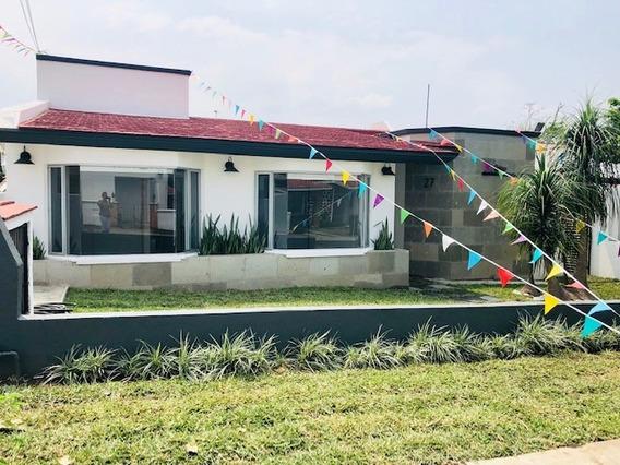 Casa Completamente Remodelada En Lomas De Cocoyoc