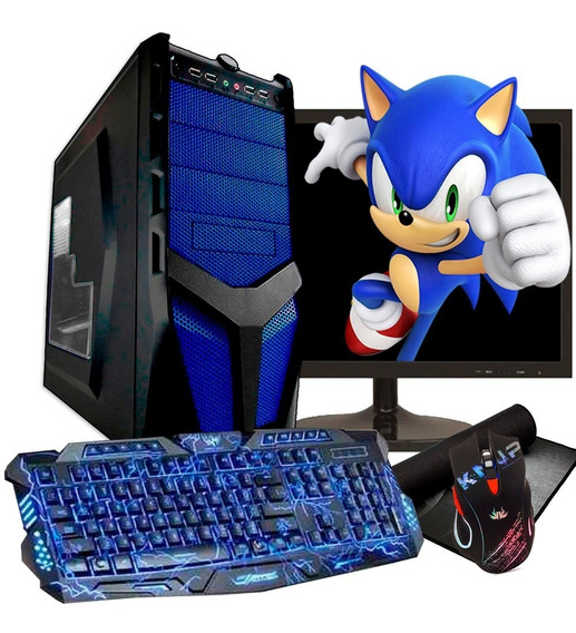 Pc Gamer Completo Quadcore 8gb / 1tb / Geforce + Kit Gamer