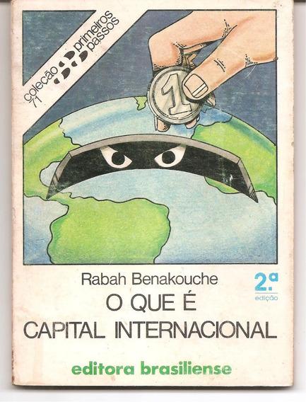 O Que É Capital Internacional - Benakouche, Rabah