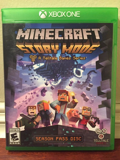Minecraft: Story Mode -juego -xbox One