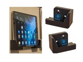 Par Suporte Parede iPad Tablet Apple Samsung Universal New
