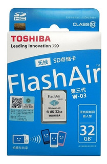 Memoria Sd Wifi 32gb Toshiba Facturado