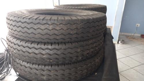 Imagem 1 de 9 de  6 Pneus Pirelli De Caminhão Antigo Sem Uso  Medida 825 Aro
