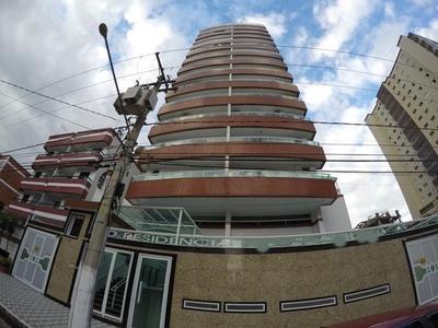 Apartamento Em Cidade Ocian, Praia Grande/sp De 85m² À Venda Por R$ 300.000,00 - Ap145847
