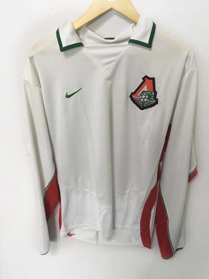 Camiseta Lokomotiv Moscú Talle L - Titular - Nueva - Rusia