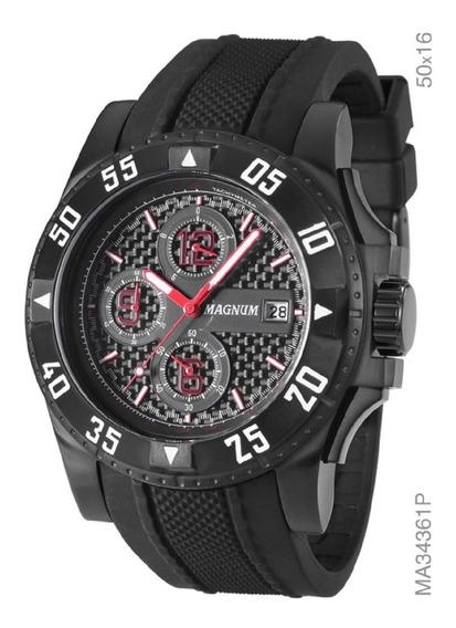 Relógio Analógico Sports Masculino Magnum Ma34361p