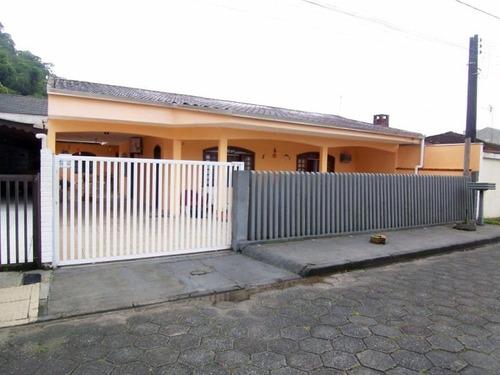 Imagem 1 de 18 de Casa 2 Quartos No Centro Em Guaratuba/pr - Imobiliária África - Ca0100 - 4710241