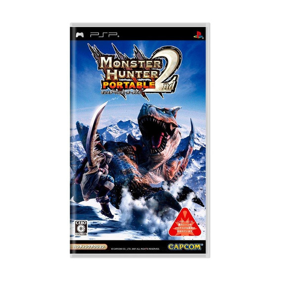Monster Hunter Portable 2nd Psp Mídia Física Pronta Entrega