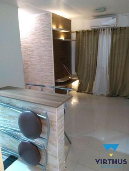 Apartamento De 2 Quartos, 1vaga, Andar Alto, No Cond. Caminhos Da Barra - 635