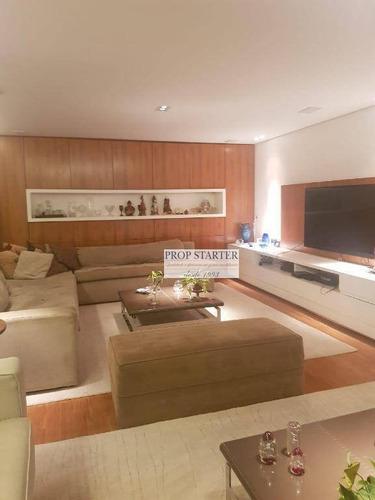 Imagem 1 de 19 de Localizado A 9 Minutos Do Mooca Plaza Shopping Apartamento Com 3 Dorm. À Venda, 237 M² Por R$ 2.700.000 - Ipiranga - /sp Prpstarter Adm.imoveis - Ap0701
