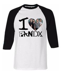 Playera Raglan - I Love Pxndx