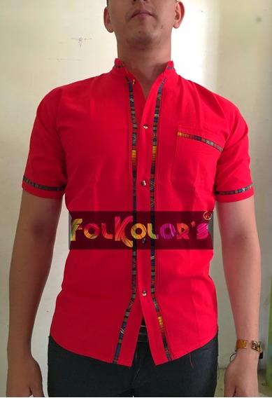 Guayabera Balam Chiapas Diversos Colores