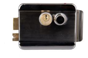 Fechadura Elétrica Inox Abertura Dupla Com Garantia 1 Ano