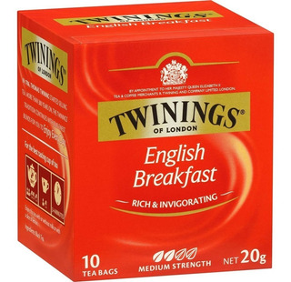 Te Twinings English Breakfast Saquitos Ingles Tes Twinning