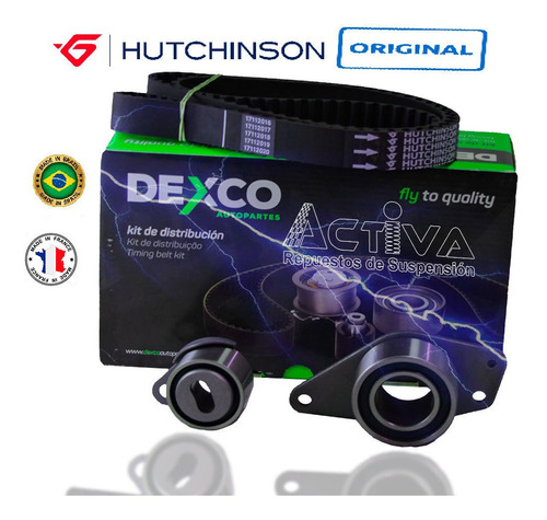 Kit  Distribucion Scenic Diesel 1.9  F9q 153dientes Tensor M