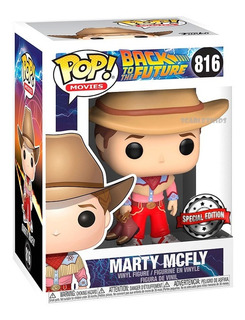 Funko Pop Back To The Future Marty Mcfly 816 Special Edition