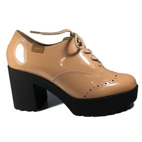 fb10bef5cb Sapato Oxford Feminino Tratorado Moleca - Sapatos no Mercado Livre ...