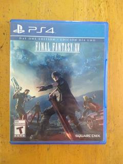 Juego Físico(ps4), Final Fantasy Xv Sub Español