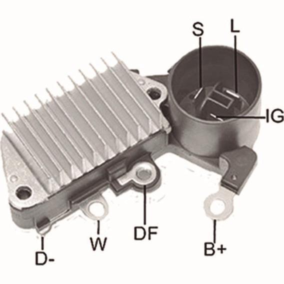 Regulador De Voltagem Daihatsu Charade 1993-2000 Ikro - Ik55