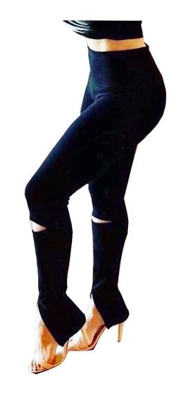 Calça De Bandagem Feminina Skinny
