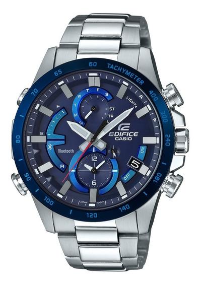 Reloj Casio Eqb-900db-2acf Para Caballero Ext De Acero