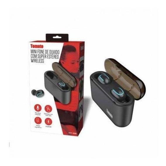 Fone De Ouvido Bluetooth Estéreo Wireless Tomate Mtf 8801